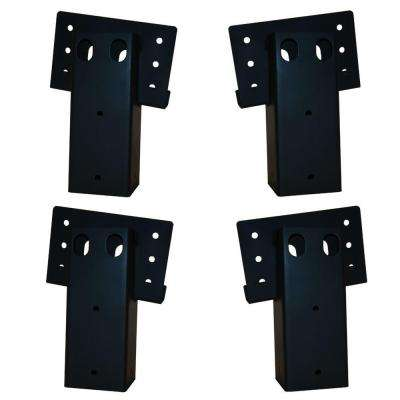 4 in. x 4 in. Double Angle Brackets (4-Set)