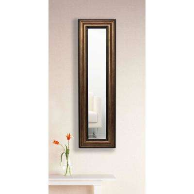 11.5 in. x 39.5 in. Canyon Bronze Vanity Mirror Single Panel