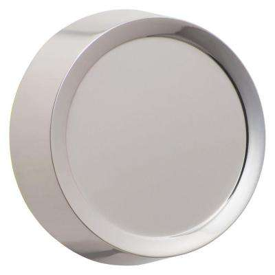 Dimmer Knob Wall Plate, Polished Nickel