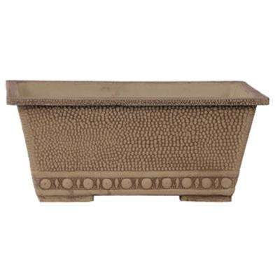 13 in. x 9 in. x 5-1/2 in. Taupe PSW Window Box