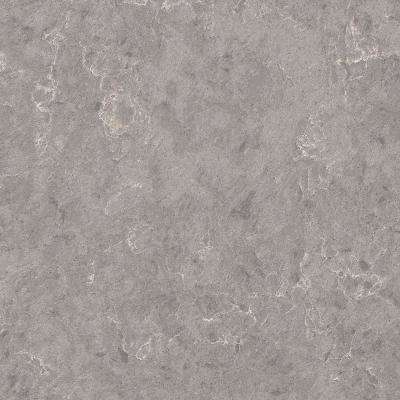 3 in. x 3 in. Quartz Countertop Sample in Lento