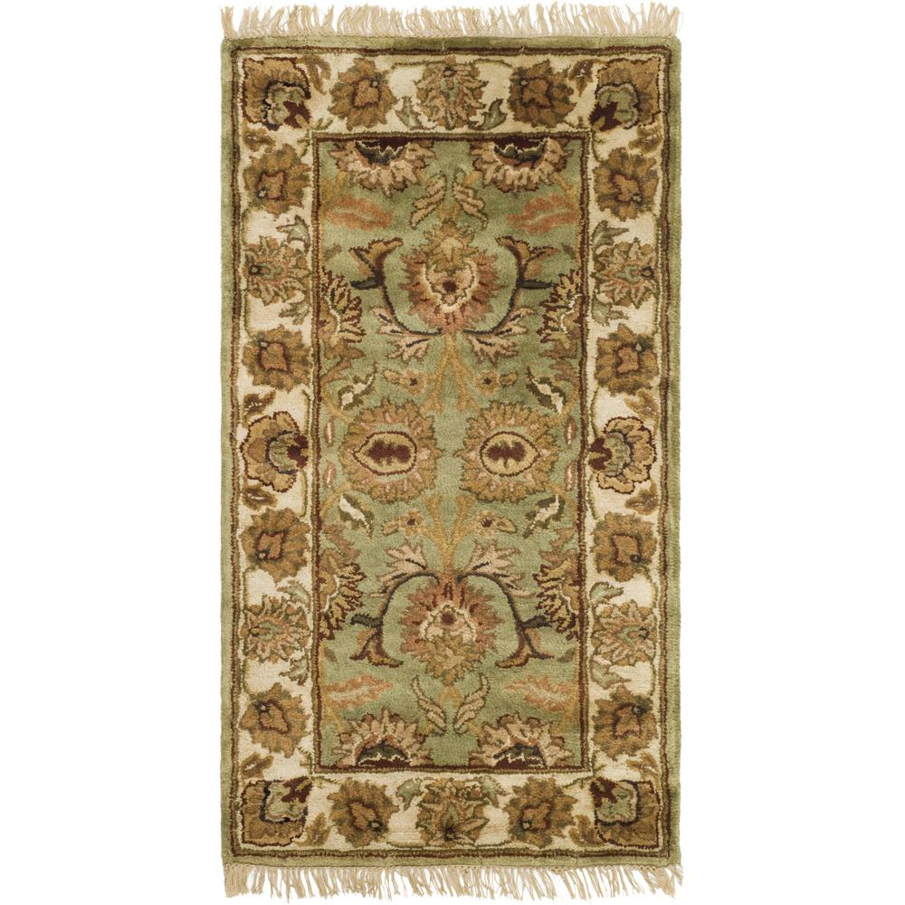 Classic Green/Ivory 2 ft. 3 in. x 4 ft. Area Rug