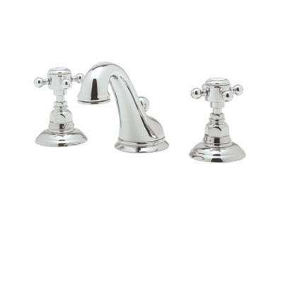 Viaggio 8 in. Widespread 2-Handle Bathroom Faucet in Polished Chrome