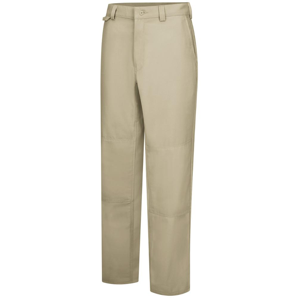 Men's 36 in. x 30 in. Khaki Utility Work Pant