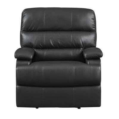 Raleigh Faux Leather Recliner Chair in  Black