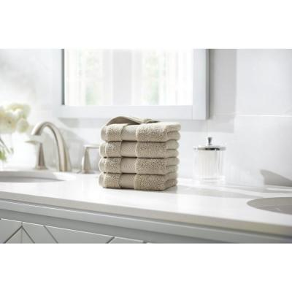 Plush Soft Wash Cloth (Set of 4)