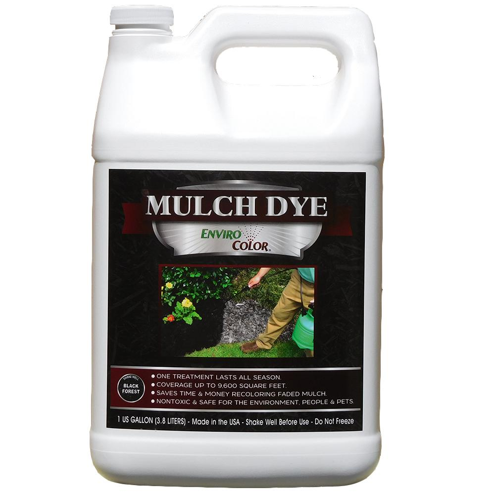ENVIROCOLOR 9,600 sq. ft. Black Forest - Black Mulch Colorant Concentrate