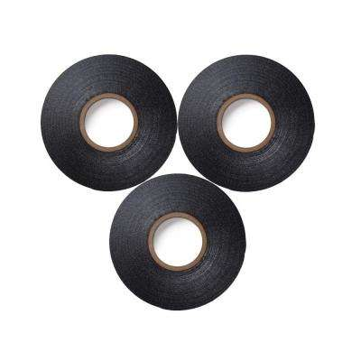 Super 33+ 3/4 in. x 66 ft. Vinyl Electrical Tape, Black ((3-Pack) (Case of 6))