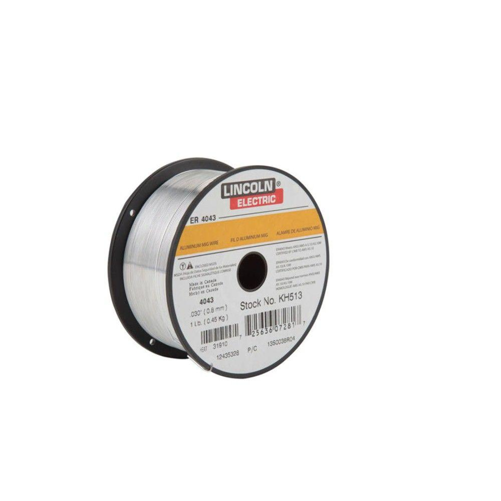 Lincoln Electric .030 in. Superglaze ER4043 Aluminum MIG Welding ...