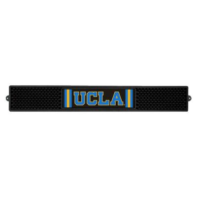 NCAA- 3.25 in. x 24 in. Black University of California Los Angeles (UCLA) Drink Mat