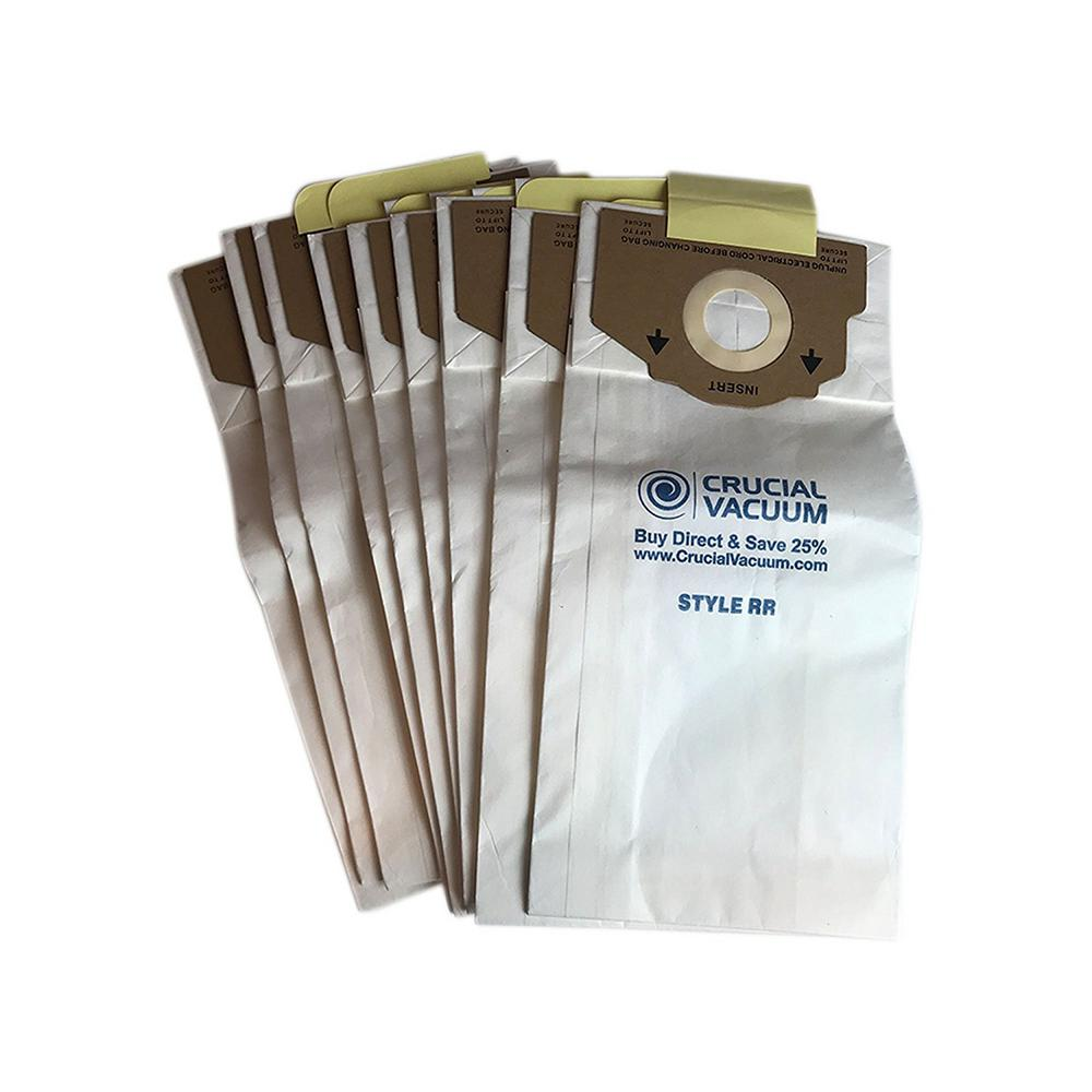 Think Crucial 9pk Replacement Paper Vacuum Bags Fits Eureka Rr Compatible With Part 61115