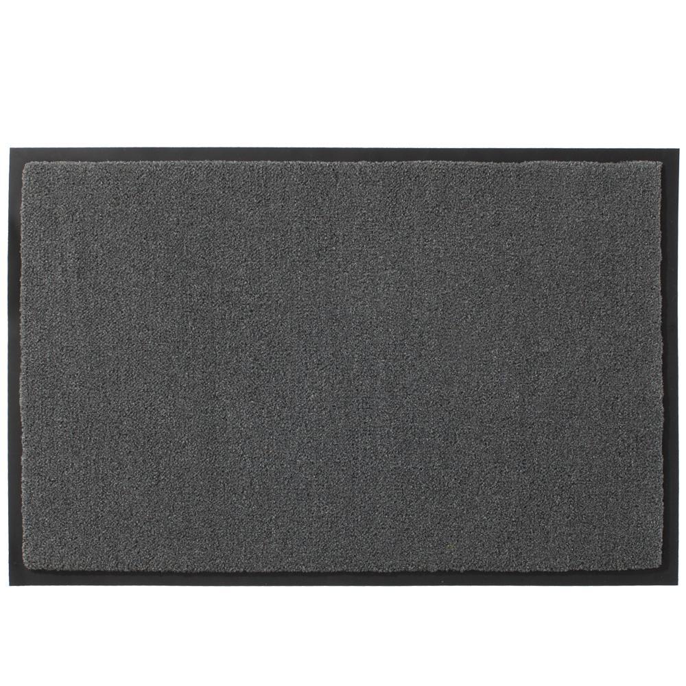 Toledo Grey 24 in. x 36 in. Commercial Floor Mat