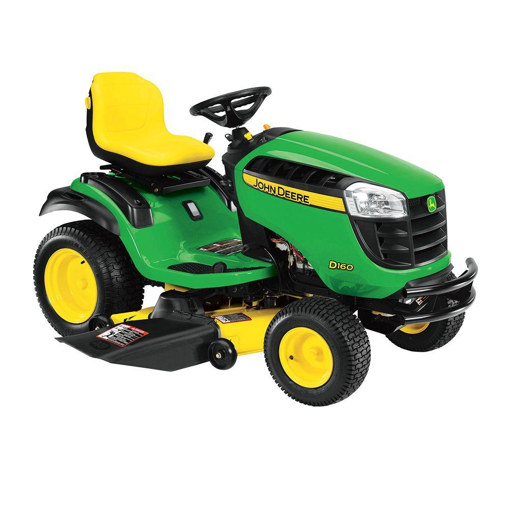 John Deere D160 48 in. 25 HP V-Twin Hydrostatic Front-Engine Riding Mower
