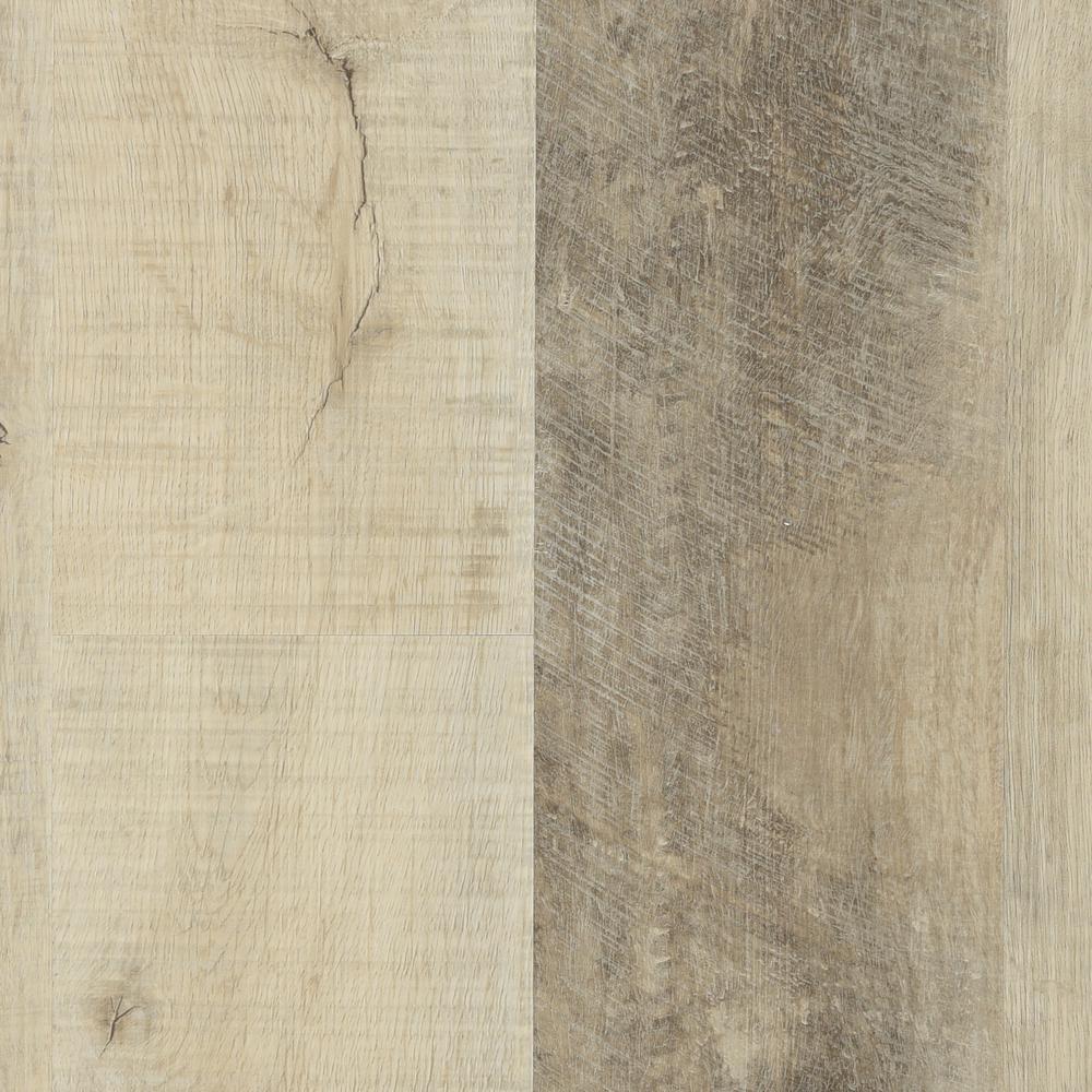 Buff 7 in. x 48 in. Floating Vinyl Plank Flooring (24.30 sq. ft. / case)