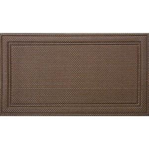 Apache Mills Manhattan Soho 20 inch x 36 inch Recycled Rubber Door Mat by Apache Mills