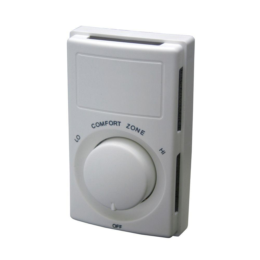 Fahrenheat Non-Programmable Wall-Mount Thermostat on