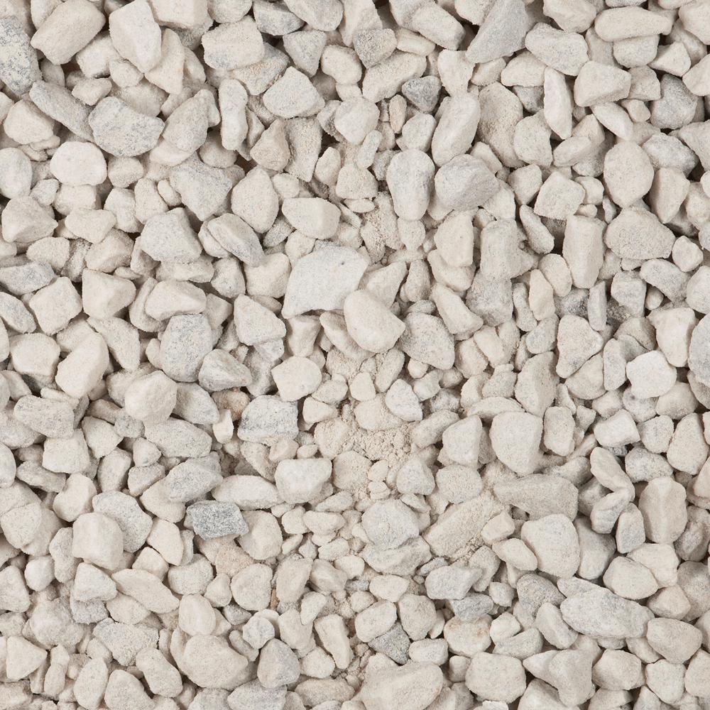 Clear White Driveway Gravel