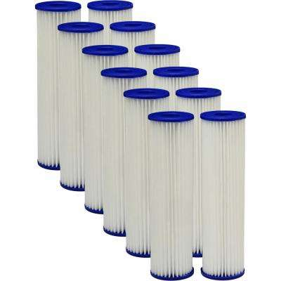 Universal Fit Pleated Whole House Water Filter (2-Pack), Case of 6