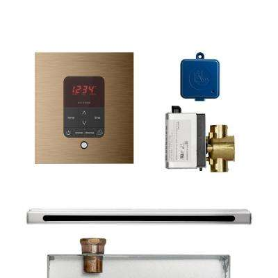 Butler Linear Package Square Brushed Bronze