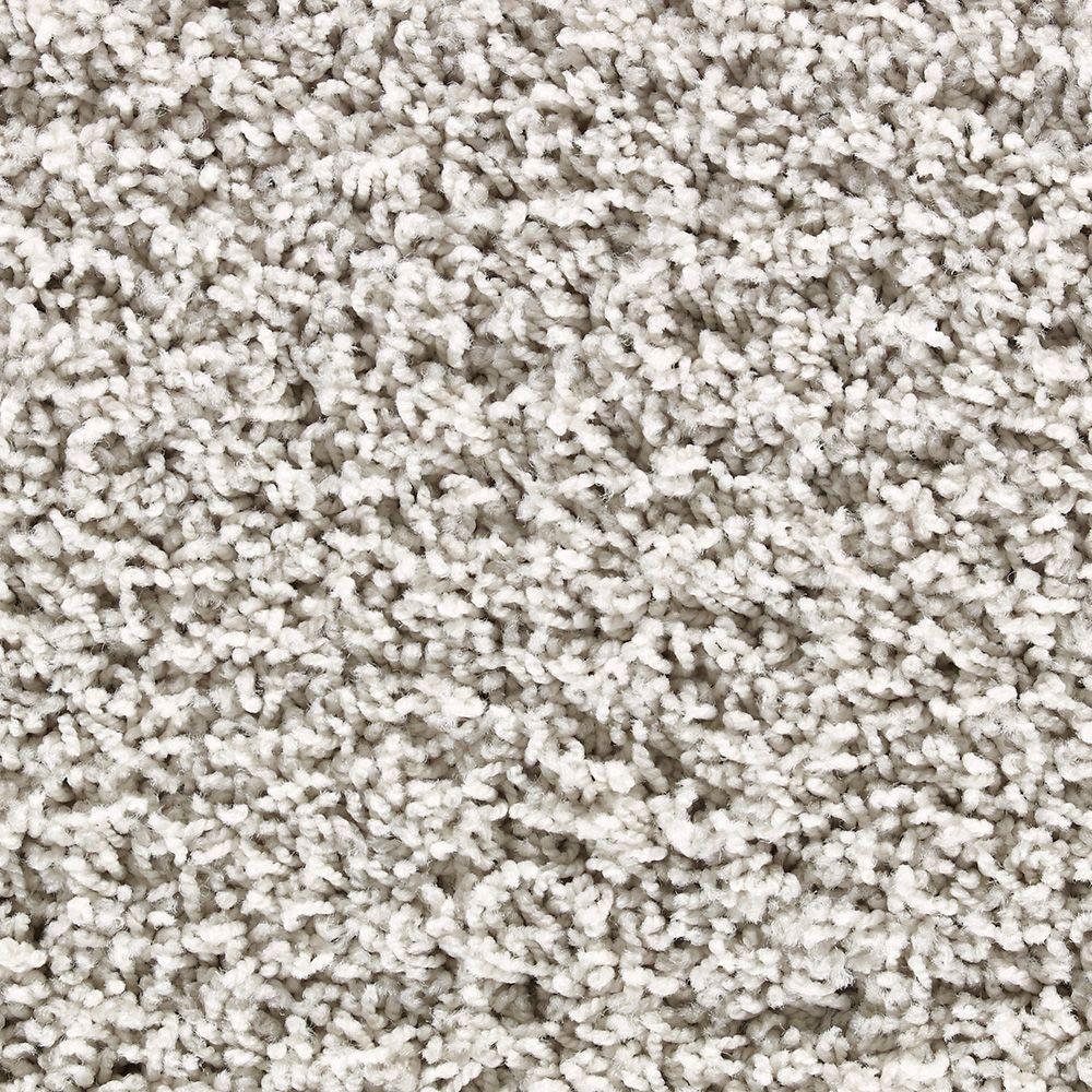 Martha Stewart Living La Paz Whetstone Gray - 6 in. x 9 in. Take Home Carpet Sample