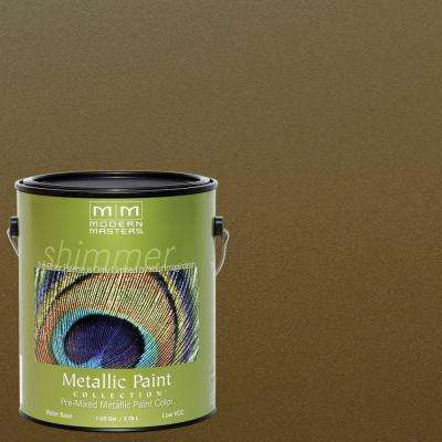 1 gal. Green Gold Metallic Interior/Exterior Paint