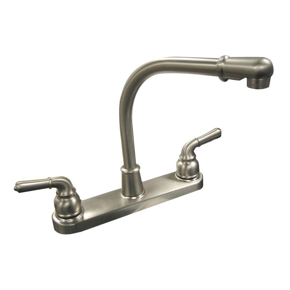 Swivel Aerator For Kitchen Faucet: Dominion 2-Handle Standard Kitchen Faucet With Swivel