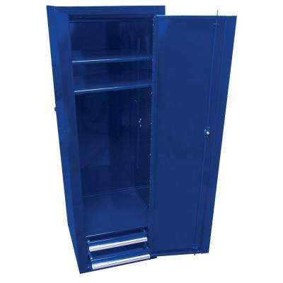 Professional 18 in. Side Locker with 2-Drawer, Blue