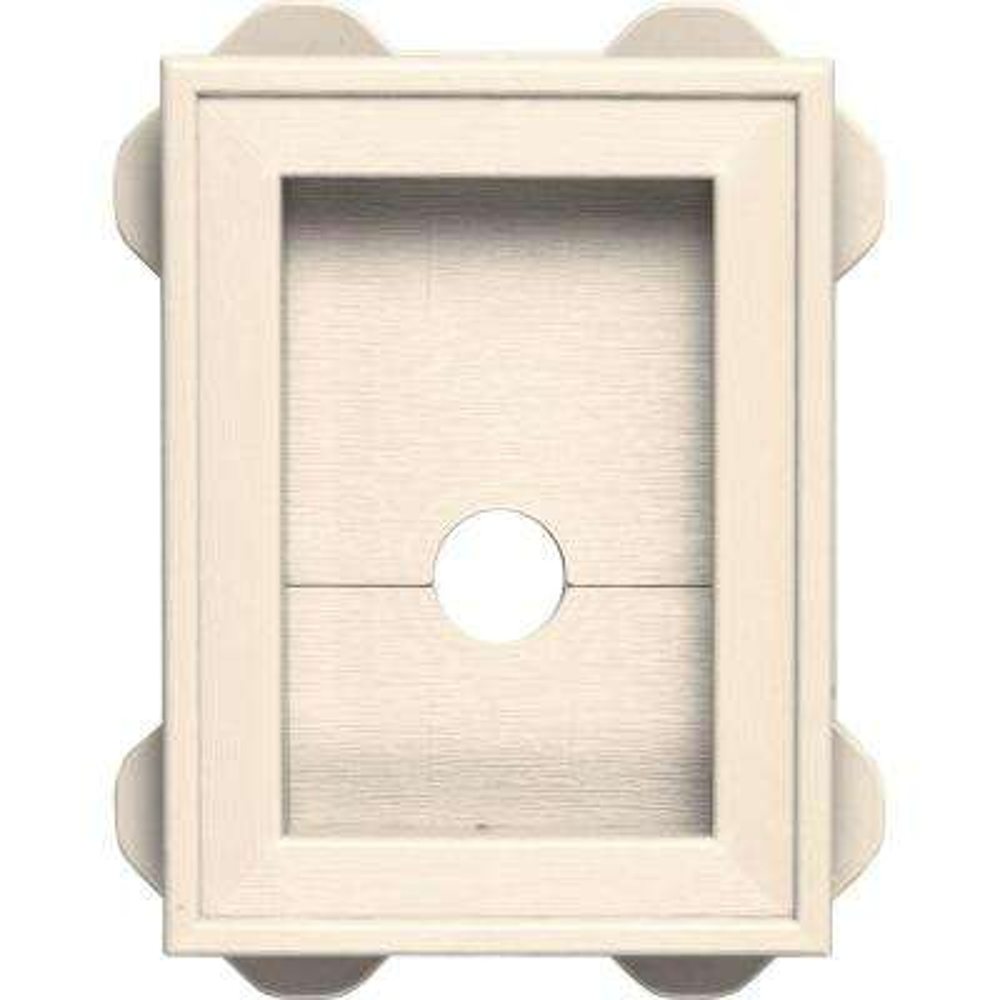 5.0625 in. x 6.75 in. #021 Sandstone Beige Wrap Around Universal Mounting Block