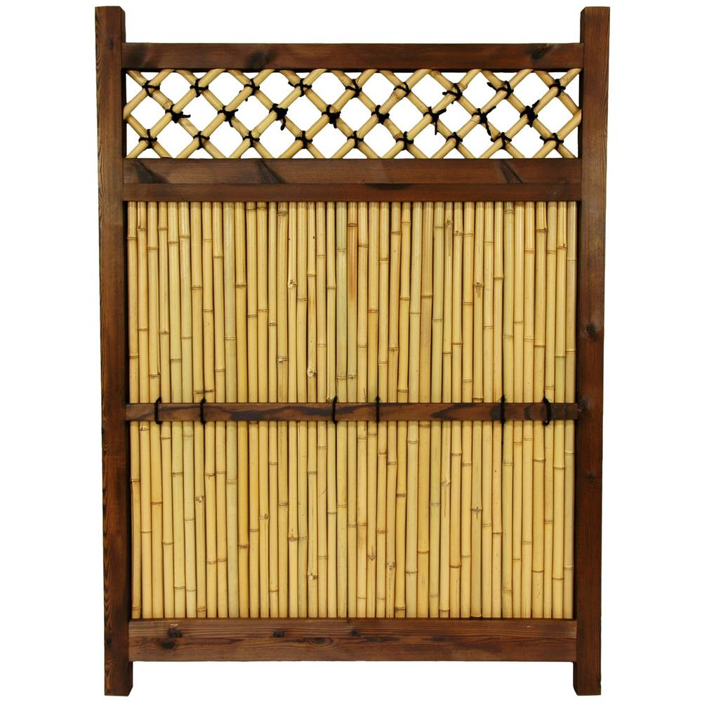 Oriental Furniture Japenese panel Fence   Item# 10863