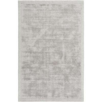 Silk Route Rainey Gray 8 ft. x 10 ft. Indoor Area Rug