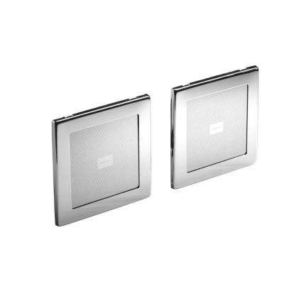 SoundTile 45-Watt Shower Speakers in Polished Chrome