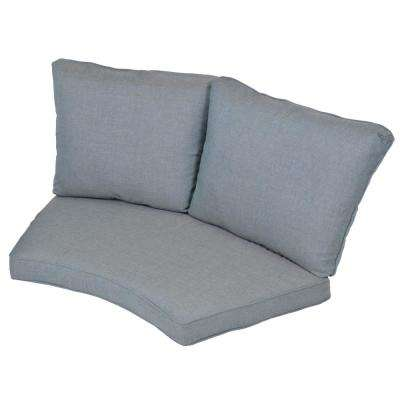 Torquay Spa Replacement 2-Piece Outdoor Sectional Cushion