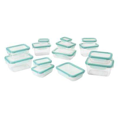 Good Grips 28-Piece Smart Seal Plastic Container Set