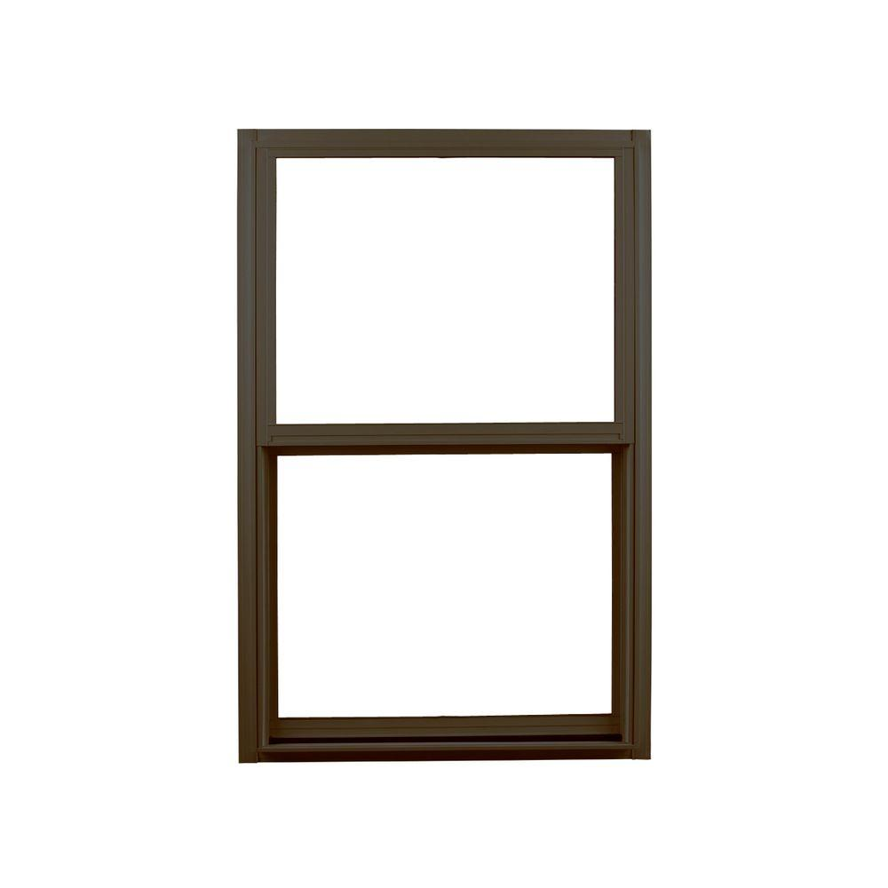 ply gem windows home depot vinyl window ply gem 3525 in 5925 310 series single hung aluminum window