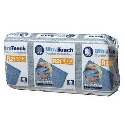 16.25 in. x 94 in. R21 Denim Insulation (12-Bags)