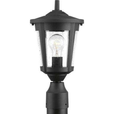 East Haven Collection 1-Light Black Outdoor Post Lantern