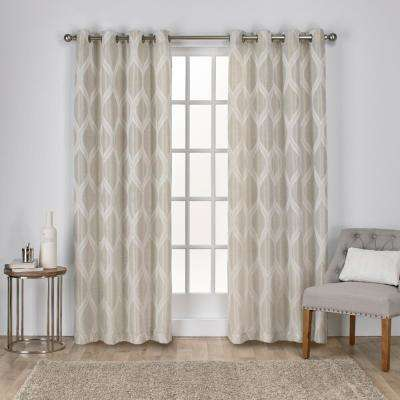 curtain free panels kitchen drapery linen eshaan grande shipping curtains leh natural living products drapes window custom i room with bedroom