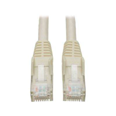 15 ft. Cat6 Gigabit Snagless Molded Patch Cable, White