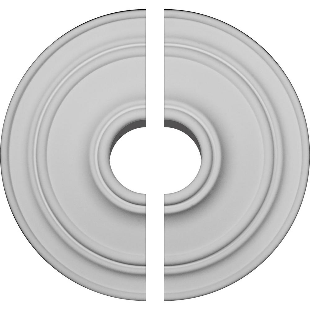 21-7/8 in. OD x 2-3/8 in. P Classic Ceiling Medallion (2-Piece)