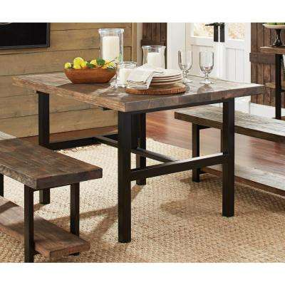 Reclaimed wood kitchen dining tables kitchen dining room pomona rustic natural dining table workwithnaturefo