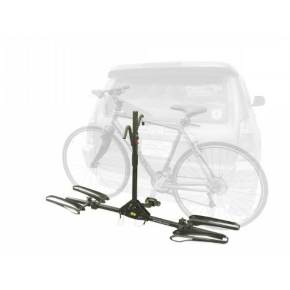 Stoneman Sports Sparehand 2-Bike Black Latitude Hitch Mount Vehicle ...
