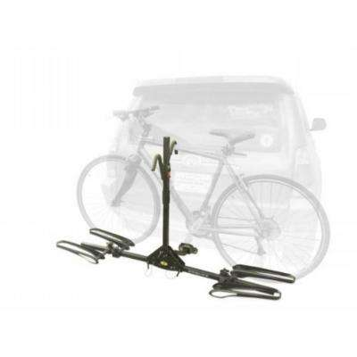 Sparehand 2-Bike Black Latitude Hitch Mount Vehicle Rack for All Frame Types