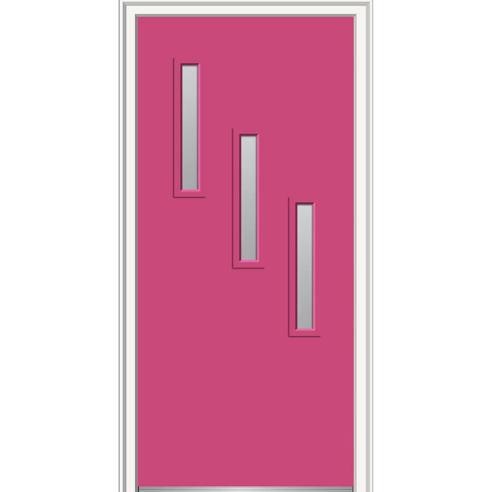Pink - Front Doors - Exterior Doors - The Home Depot