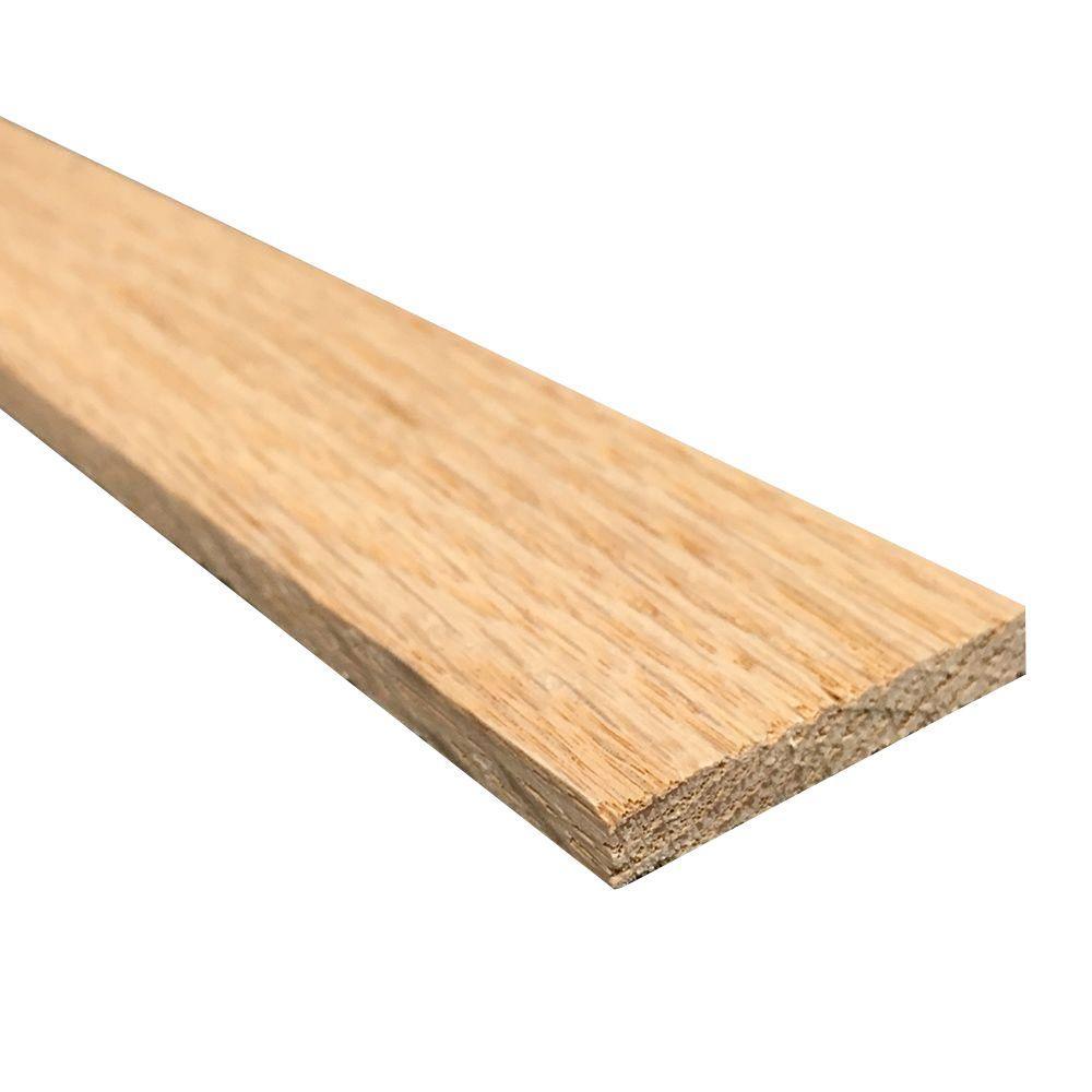 1/4 in. x 2 in. x 3 ft. S4S Oak Board