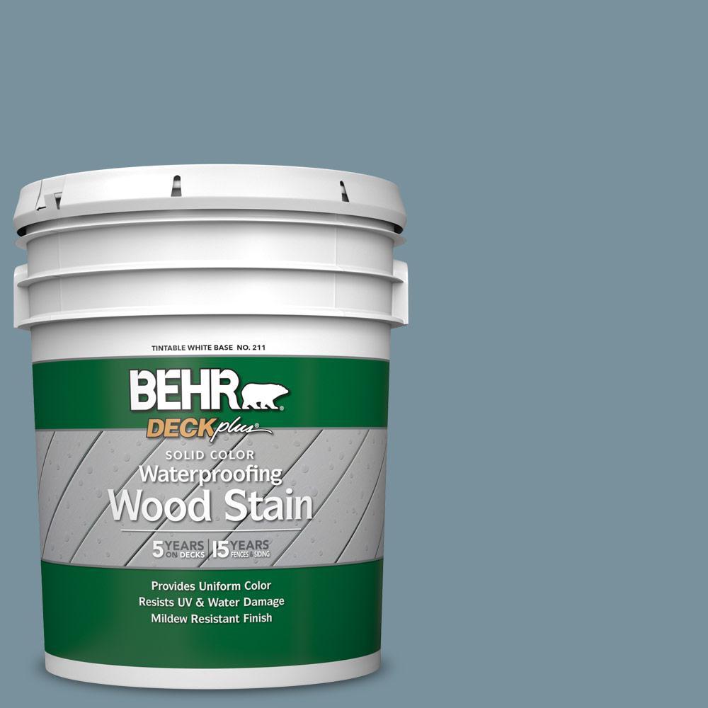 5 gal. #SC-113 Gettysburg Solid Color Waterproofing Exterior Wood Stain