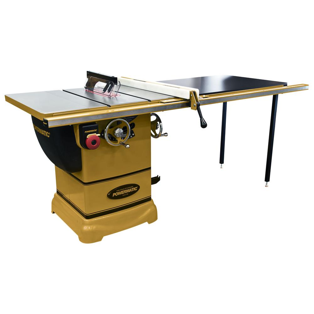 Powermatic PM1000 115-Volt 1-3/4 HP 1PH Table Saw with 52 in. Accu-Fence System