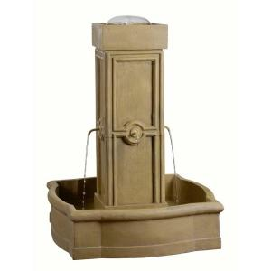 Kenroy Home Quatrafoil Resin Outdoor Floor Fountain by Kenroy Home