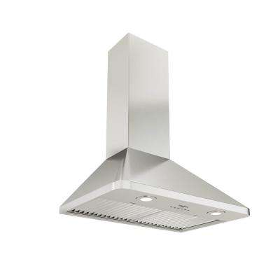 WPR630 Pyramid Chef 30 in. 600 CFM Ducted Wall Mount Range Hood with LED in Stainless Steel