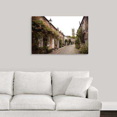 """Circus Lane, Edinburgh, Scotland, UK"" by Circle Capture Canvas Wall Art"