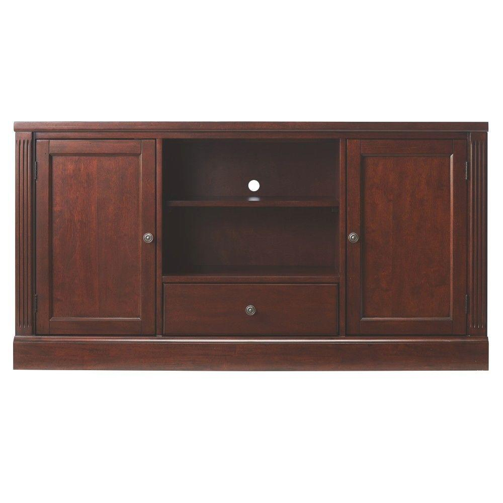 HillsdaleFurniture Edinburgh Espresso Modular TV Stand, Brown